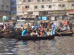 Water taxis (Zudzowne) Tags: river boats transport olympus taxis dhaka bangladesh e30 olddhaka zudzowne patrickbeintema