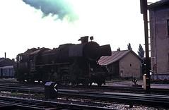 152 4867  Graz  14.08.75 (w. + h. brutzer) Tags: analog train austria österreich nikon eisenbahn railway trains steam locomotive graz dampflok lokomotive eisenbahnen gkb dampfloks webru