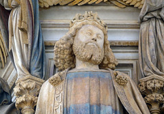 Detail of David: Claus Sluter, Well of Moses, 1395-1405