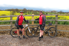 DAY 82 22nd April  Out on the bikes again. (Newdawn images) Tags: bike mountainbiking essex birchanger canonpowershotg11