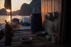 Halong bay - Vietnam (Nomhad) Tags: sunset cat island bay fuji vietnam ba halong x100