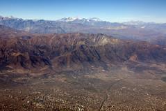 Santiago y los Andes (Gabriel Sperandio) Tags: chile chili aerialview andes cile vistaaérea