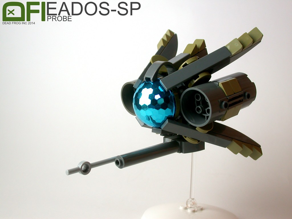 EADOS SP Dead Frog Inc Tags Blue Color Ship Lego Space
