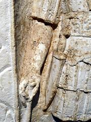 Colchester: M. Favonius Facilis (The Armatura Press) Tags: sculpture roman tombstone colchester legion centurion l