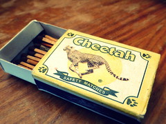 match box (Jackal1) Tags: words kenya african text cheetah matches matchbox