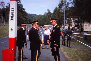 West Germany   -   HerbornSeelbach   -   557th USAAG   -   Memorial Day Dedication   -   John & Oma   -   May 1989