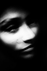 if you could (Nassia Kapa) Tags: blur reflection texture face self dark mirror noir shadows emotion artistic dramatic poetic lips honest soul senses grainy tear sorrow feelings experimenting nassiakapa