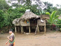 Embera Indian Village, Panama (Jake Laun) Tags: indians panama embera
