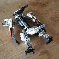 DSCN6677 (alfa145q_lego) Tags: lego legocreator vehicletransporter 31033 alternate futureflyers 31034 mecha rebuild