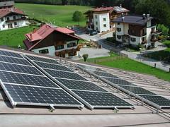 Pannelli fotovoltaici foresteria Mavignola