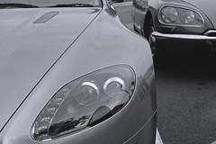 V8 Vantage | Citroen DS (KHFotographie) Tags: citroen ds british v8 aston citroends astonmartin vantage v8vantage