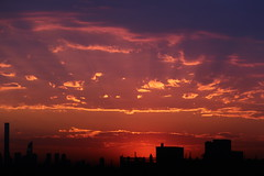 2016May24 (5) (ShellyS) Tags: nyc newyorkcity sunset sky skyline clouds manhattan skylines sunsets