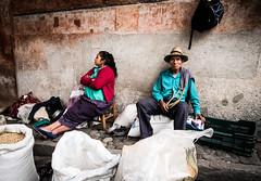 (ross_123) Tags: travel woman man hat couple fuji market guatemala rope x local f2 12mm santo chichicastenango chichi toms samyang xt10