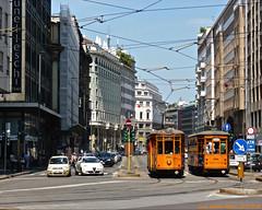 Piano City Milano 2016 (Luca Adorna) Tags: urban orange piano tram urbano 1980 1928 atm witt peterwitt pianoforte 1830 carrelli atmmilano trammilano peterwitttram pianocity carrelli1928 pianocitymilano milanovialarga atm1980 atm1830 pianocitymilano2016