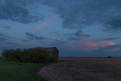 Untitled (gerrypocha) Tags: sky abandoned clouds evening may prairie saskatchewan heavens derelict