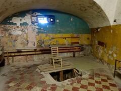 The hanging room... Patarei, KGB-gevangenis in Tallinn