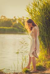 (PinkPetra) Tags: light sunset portrait lake playing nature water sunshine canon river 50mm hungary play sundown 7d 3p 2016 portraitphotography portr pinkpetra pinkpetraphotography horvthpetra