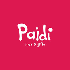 PAIDI, Toys & Gifts (Abel Snchez.) Tags: kids logo typography design graphicdesign letters identity lettering brand branding logotype