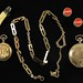 J1. Group of Vintage Pocketwatches & Accessories