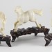 420. (3) Antique Chinese Ivory Horses