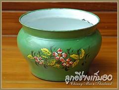 enamel chamber pot