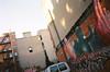 Gaia (JoelZimmer) Tags: newyork film manhattan lowereastside gaia nikonf3 streetartgraffiti inkhead kodakektar100 cresthardware