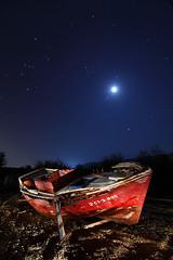 3 CT 3 805 (raul_lg) Tags: sky lightpainting canon stars barca barco luna murcia cielo estrellas nocturna abandonada largaexposicion maglite3d raullg