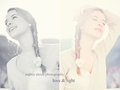 Love & Light 16/52 (Sophia Alexis) Tags: alexis light white fish black flower love canon eos 50mm tail sigma 7d sophia braid photograpy