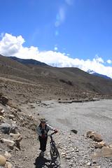 Taking it easy on a Multi sport treking Mountain biking rafting kayaking trip in Nepal