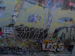 12/22/2011 Free Wall (sixheadedgoblin) Tags: mushroom legs spray josh yarn toad roller publicart senses splash plain olympiawashington bhc yobi canser freewall freewallwide2