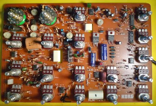 Korg MS-10 PCB