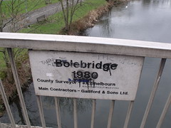 River Anker - Tamworth - Bolebridge 1980 sign (ell brown) Tags: greatbritain bridge england sign graffiti unitedkingdom staffordshire tamworth riveranker bolebridge rnbanker bolebridge1980 bolebridgest