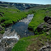 High  mountain stream at the head of Big Indian Canyon on Steens Mountain, Oregon.