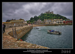 St Michael's Mount, Cornwall (thpeter) Tags: uk greatbritain england europe cornwall unitedkingdom gb stmichaelsmount gmt gbr dst 2011 thomaspeter thpeter