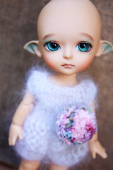 Will you be my new mommy? (Heather ) Tags: miel bjd latidoll foradoption atthebay latiyellow edeyes flowergardenmiel tanresin