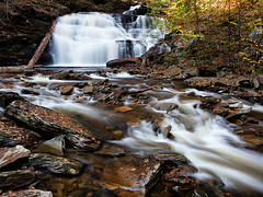 Ricketts Glen Waterfall (Marvin Foran Photography) Tags: waterfall pennsylvania rickettsglen rickettsglenstatepark pennsylvaniastateparks marvinforanphotography
