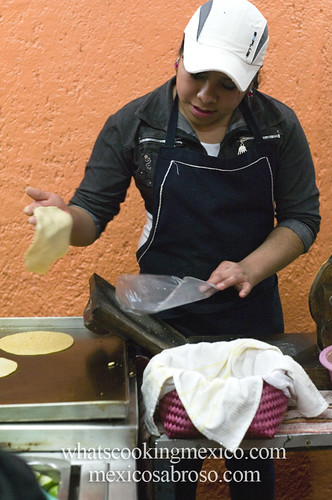 "Tortillas<br /><span style=""font-size:0.8em;"">Read more about it here: <a href=""http://whatscookingmexico.com/2012/02/13/the-anatomy-of-a-taco/"" rel=""nofollow"">whatscookingmexico.com/2012/02/13/the-anatomy-of-a-taco/</a></span> • <a style=""font-size:0.8em;"" href=""http://www.flickr.com/photos/7515640@N06/6862930653/"" target=""_blank"">View on Flickr</a>"