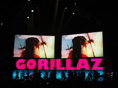 Gorillaz (mnlocher) Tags: concert live detroit gorillaz 2010 plasticbeach
