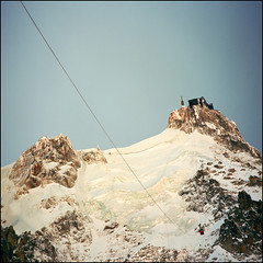 Aiguille du midi II (Katarina 2353) Tags: travel blue winter light vacation white mountain snow man france mountains alps film nature beautiful alpes square french landscape photography high nikon europa europe flickr shadows view place image famous peak paisaje glacier alpine peaks paysage range chamonix francia mont priroda blanc levels montblanc massif rhonealpes rhnealps tjkp alpinista pejza vertorama katarinastefanovic katarina2353