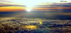 Heaven (Phil-V.com) Tags: sunset portrait sky cloud sun storm color art nature colors beautiful beauty weather skyline clouds sunrise wow wonderful fun amazing cool interesting intense artwork warm skies natural artistic awesome creative adorable stormy explore imagine imagination sunrises elegant storms interest exciting fascinating outstanding intensive fascinated loveley fascinate cloudsawesome