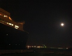 Queen Mary moonlit2 (ron.zima) Tags: our children for coach air free clean vehicles health carbon co2 asthma dioxide al macphee vicki change global warming climate expo green kids pat go air brian motor network clean dad childrens hockey ron industries robertson bowman uma idlefree zima idle macphee ziska gillis chato mci