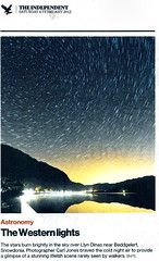 Independent-04-Feb-2012 (c@rljones) Tags: night dark stars newspaper published independent nationals startrails 04022012