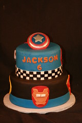 "Super hero cake • <a style=""font-size:0.8em;"" href=""http://www.flickr.com/photos/60584691@N02/6875381178/"" target=""_blank"">View on Flickr</a>"