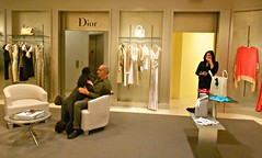 Smiles in Dior (Midnight and me) Tags: smiles hugs hautecouture saksfifthavenue dior standardpoodle womensclothing citrit blinkagain midnightandme