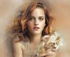 Retrato (zubillaga61) Tags: portrait painterly retrato retouch corelpainter retoque emmewatson