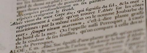Le choix de dictionnaires