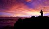 Fisherman of Mengening Beach (galangphotography) Tags: sunset bali siluet mengeningbeach