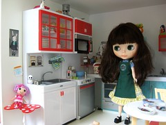 Colette in the Kitchen