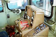 Banco di manovra della ALn668.1452. (e403fs) Tags: torino banco cabina di porte originale fs aln trenitalia 668 manovra aperte livrea smistamento