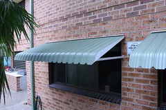 Bullnose Awning (Tru-Steel, Colorbond)